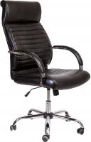Кресло офисное Седия Alexander Chrome Eco (черный бриллиант) -