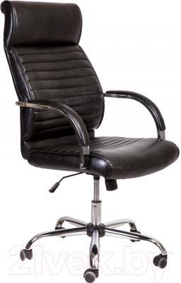 Кресло офисное Седия Alexander Chrome Eco (черный бриллиант)