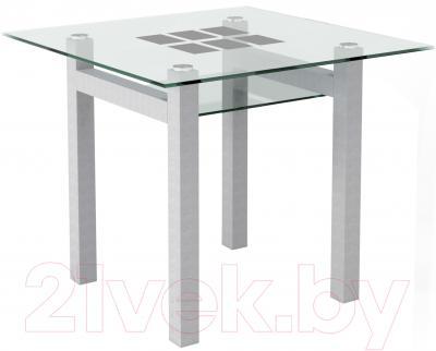 Обеденный стол Artglass Tornado 90 Квадраты