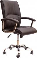 Кресло офисное Седия Bari Chrome Eco (черный) -