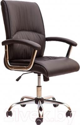 Кресло офисное Седия Bari Chrome Eco (черный)