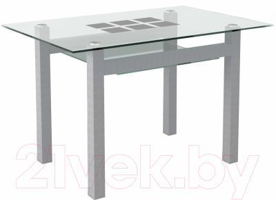 Обеденный стол Artglass Tornado 120 Квадраты