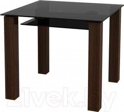 Обеденный стол Artglass Palermo 90 (серый)