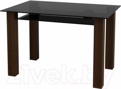 Обеденный стол Artglass Palermo 120 (серый)