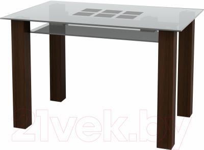 Обеденный стол Artglass Palermo 120 Квадраты