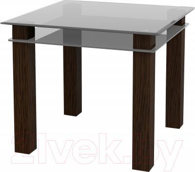 Обеденный стол Artglass Tandem 90