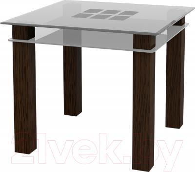 Обеденный стол Artglass Tandem 90 Квадраты