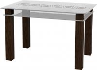 Обеденный стол Artglass Tandem 120 Меандр -