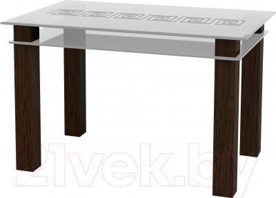 Обеденный стол Artglass Tandem 120 Меандр