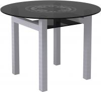 Обеденный стол Artglass Ringo Cleo Круг (серый) -