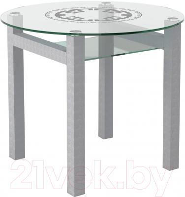 Обеденный стол Artglass Ringo Cleo 90 Круг