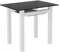 Обеденный стол Artglass Comfort Cleo (серый/белый) -