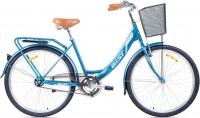 Велосипед Aist Jazz 1.0 (голубой/графит) -