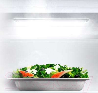 Холодильник с морозильником Samsung RB33J3301WW