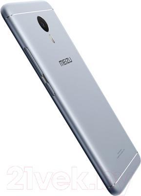Смартфон Meizu M3 Note 16Gb (серебристый/белый)