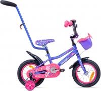 Детский велосипед с ручкой Aist Wiki (12, фиолетовый) -