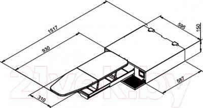 Гладильная доска Asko HI1152W