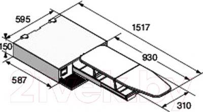 Гладильная доска Asko HI115T