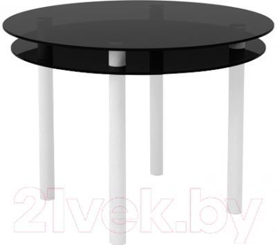 Обеденный стол Artglass Ringo Tale (серый/белый)