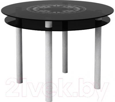 Обеденный стол Artglass Ringo Tale Круг (серый)