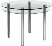Обеденный стол Artglass Ringo Tale (хром) -