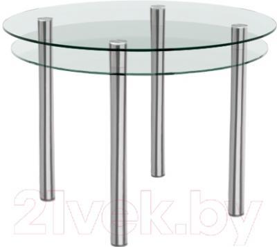 Обеденный стол Artglass Ringo Tale (хром)