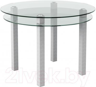 Обеденный стол Artglass Ringo Cristal