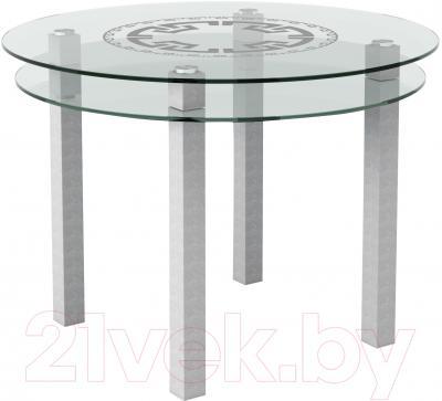Обеденный стол Artglass Ringo Cristal Круг