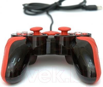 Геймпад Dialog Action GP-A15 (черный/красный)