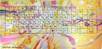 Клавиатура CBR Picture Splashes -