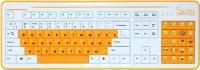Клавиатура CBR Simple S8 (белый) -