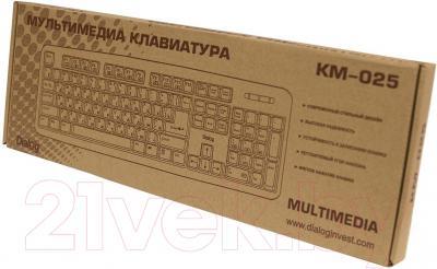 Клавиатура Dialog KM-025U (черный)