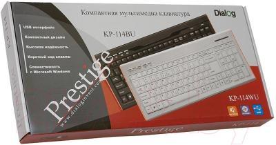 Клавиатура Dialog KP-114BU (черный)