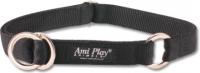 Ошейник-полуудавка Ami Play Reflective AMI107 (XL, черный) -