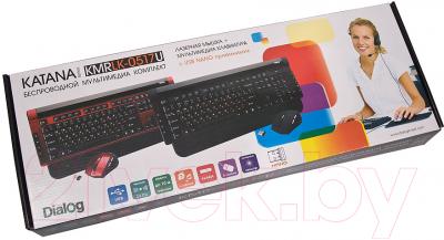 Клавиатура+мышь Dialog Katana KMRLK-0517U (черный)