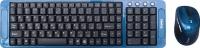Клавиатура+мышь Dialog Katana KMROK-0318U (синий) -