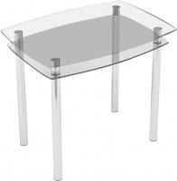 Обеденный стол Artglass Comfort Pole (хром) -