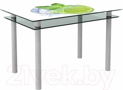 Обеденный стол Artglass Сказка Лайм