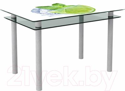 Обеденный стол Artglass Бриз Лайм