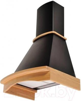Вытяжка купольная Korting KHC6740RN Wood