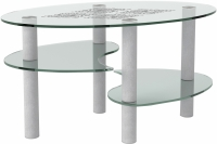 Журнальный столик Artglass Каскад Ромб -