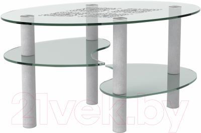 Журнальный столик Artglass Каскад Ромб
