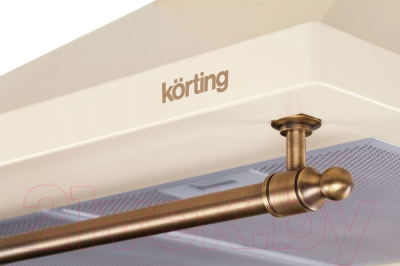 Вытяжка купольная Korting KHC6740RB