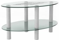 Журнальный столик Artglass Вальс Ромб -