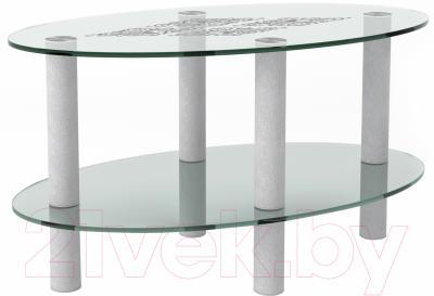 Журнальный столик Artglass Вальс Ромб