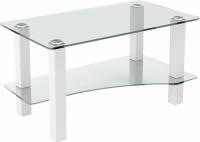 Журнальный столик Artglass Премьер (белый) -