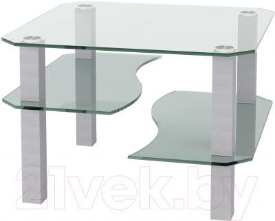 Журнальный столик Artglass Дельта