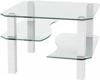 Журнальный столик Artglass Дельта (белый) -