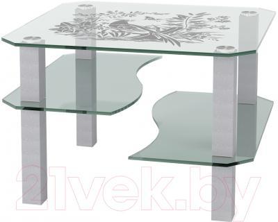 Журнальный столик Artglass Дельта Птица