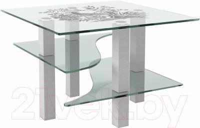 Журнальный столик Artglass Александр Птица